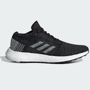 [Adidas] Pure Boost Go Sneakers in Black-8.5 Women